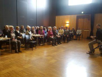 Presentatie valpreventie voor 'De vrouwen van nu'