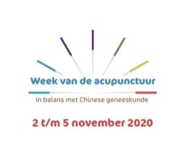 """Week van de acupunctuur met thema """"ondersteuning van de oncologische patient""""."""